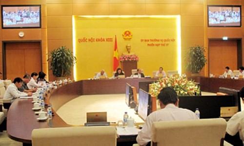 Komite Tetap MN memberikan pendapat terhadap rancangan-rancangan Undang-Undang - ảnh 1
