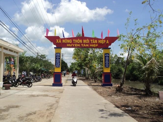 Pembangunan pedesaan baru yang dikaitkan dengan menjamin keselamatan lingkungan hidup di provinsi Kien Giang - ảnh 1