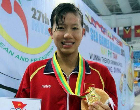 Nguyen Thi Anh Vien, perenang unggulan nomor 1 Vietnam - ảnh 1