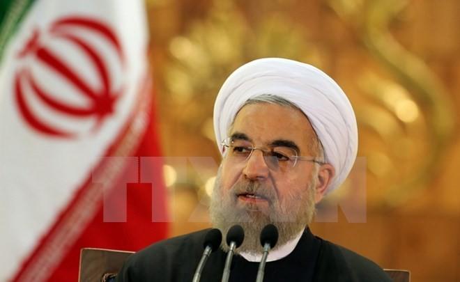 Iran bersedia menggalang hubungan baru dengan Perancis - ảnh 1