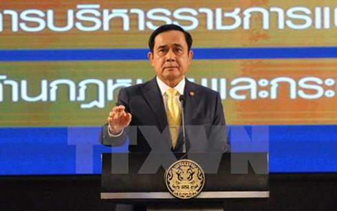 Thailand mengumumkan Rancangan UUD baru - ảnh 1
