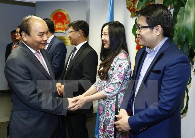 Opini umum internasional menilai tinggi kunjungan PM Nguyen Xuan Phuc di AS - ảnh 1
