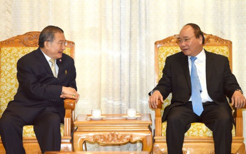 PM Nguyen Xuan Phuc menerima Presiden Grup TCC Thailand - ảnh 1
