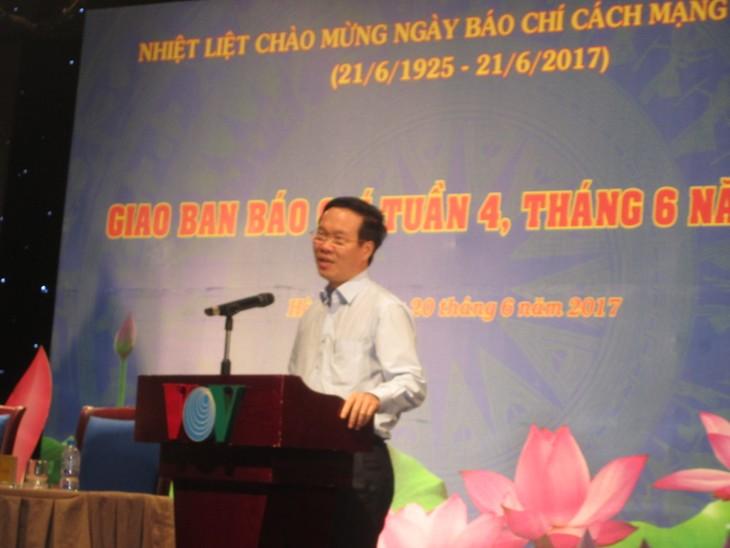 Pers selalu berjalan seperjalanan dengan usaha revolusi bangsa Vietnam - ảnh 1