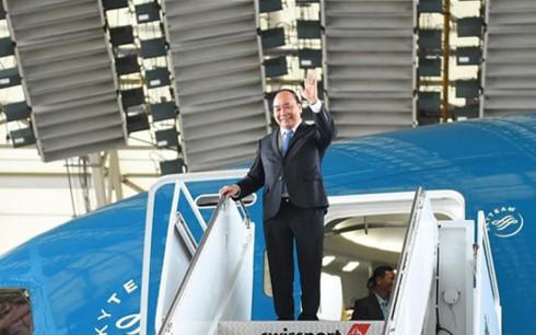 PM Nguyen Xuan Phuc mengakhiri dengan baik kunjungan di Jerman dan kehadirannya di KTT G-20 - ảnh 1