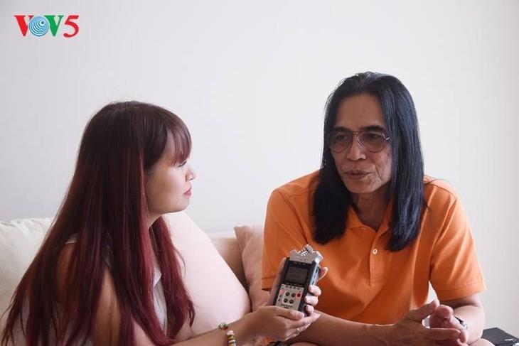 James Freddy Sundah-Musikus di negara kepulauan dengan lagu-lagu yang memberikan kepercayaan kepada kehidupan - ảnh 1