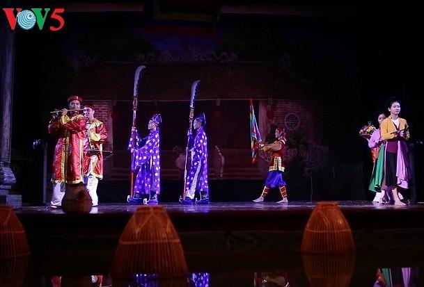 """""""Program """"Jiwa desa Vietnam"""" membawa para penonton lebih mendekati musik rakyat Vietnam"""" - ảnh 1"""