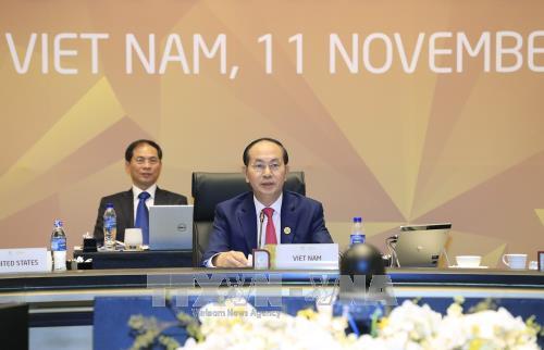 Konferensi Tingkat Tinggi ke-25 Para Pemimpin APEC mengesahkan Pernyataan Da Nang - ảnh 1