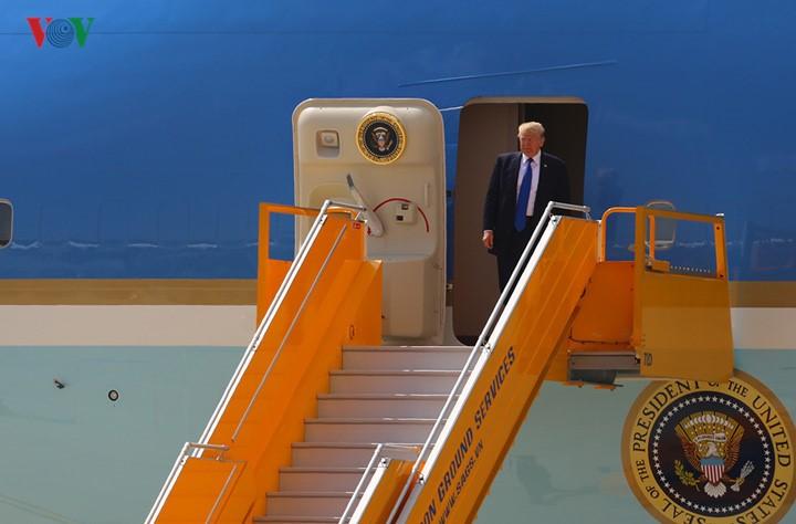 Presiden AS, Donald Trump  mengunjungi Vietnam: Kunjungan yang  punya banyak arti - ảnh 1