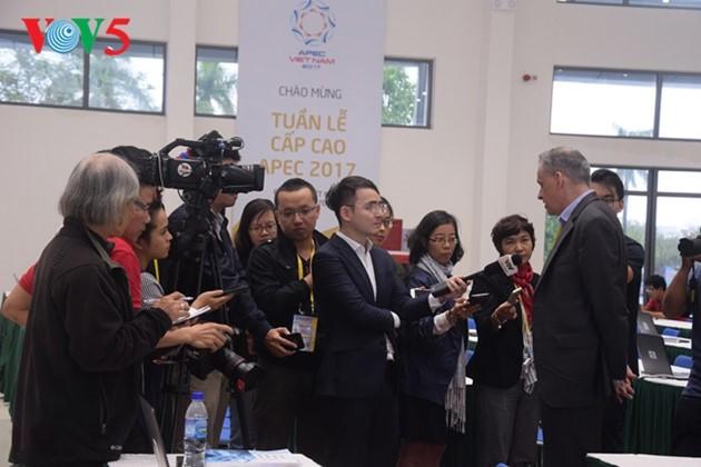 Opini umum pers internasional meliput berita tentang Pekan Tingkat Tinggi APEC 2017 - ảnh 1