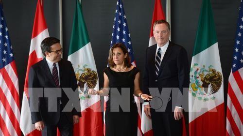 Putaran ke-5 perundingan ulang NAFTA sedikit mencapai perkembangan - ảnh 1