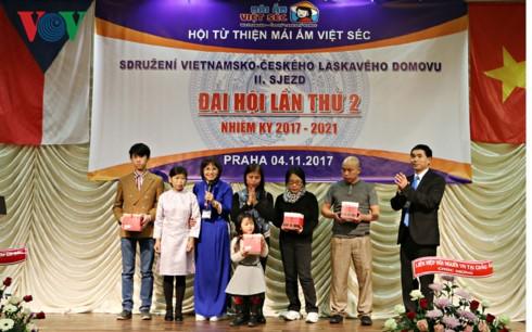 Asosiasi Rumah Amal Vietnam-Czech, tempat untuk menggandakan hati perikemanusiaan kepada orang-orang yang bernasib malang - ảnh 1