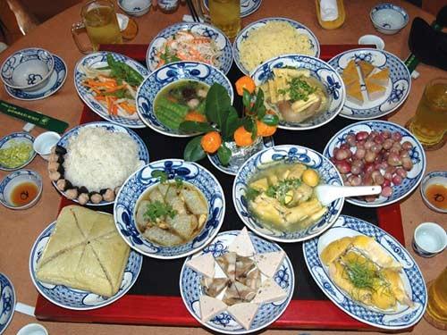 Tanggal 30 Hari Raya Tet di keluarga-keluarga orang Vietnam - ảnh 1