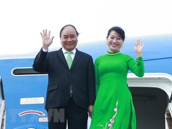 PM Nguyen Xuan Phuc memulai kunjungan resmi di Selandia Baru dan Australia - ảnh 1