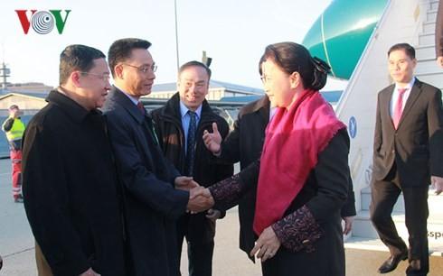 Ketua MN Nguyen Thi Kim Ngan melakukan kunjungan resmi di Belanda: Tipikal dari hubungan yang dinamis dan efektif - ảnh 1