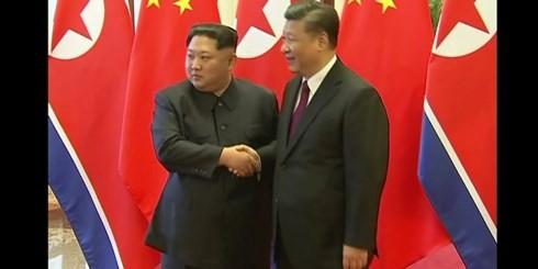 Partai-partai politik Republik Korea memberikan penilaian tentang kunjungan Pemimpin RDRK di Tiongkok - ảnh 1
