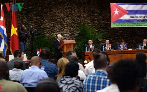Sekjen Nguyen Phu Trong: Melanjutkan lagi halaman-halaman baru dalam hubungan Vietnam-Kuba - ảnh 1