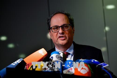 Spanyol: Pemerintahan baru di kawasan Katalonia dilantik - ảnh 1