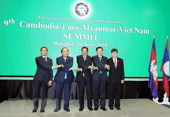 PM Nguyen Xuan Phuc menghadiri KTT CLMV ke-9 - ảnh 1