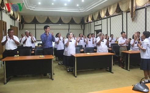 Angkatan kursus  untuk kaum lansia di Thailand - ảnh 1