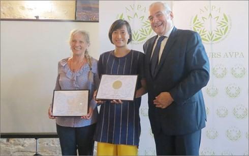 """Produk teh Viet Nam menerima penghargaan """"Teh Sedunia"""" - ảnh 1"""