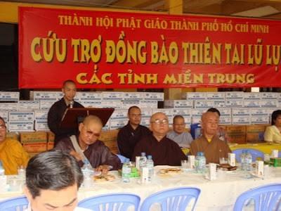 Sangha Buddha Viet Nam:  menggerakkan amal sosial senilai lebih dari 670 miliar VND - ảnh 1