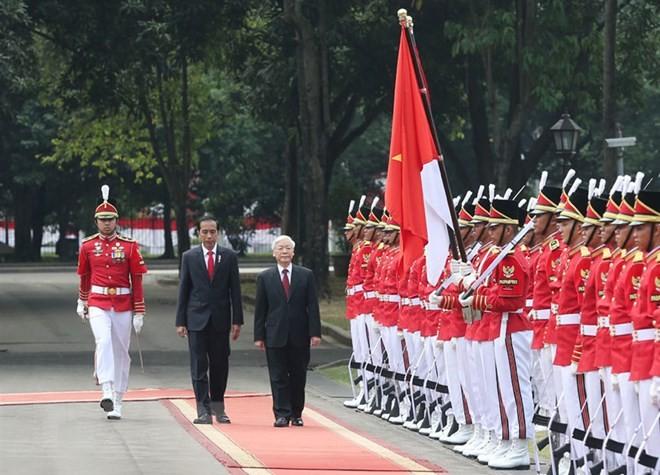 Kemitraan Strategis Viet Nam-Indonesia, permulaan baik, berkiblat ke masa depan - ảnh 1