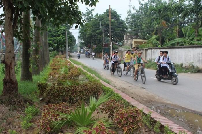 Kecamatan Ta Thanh Oai dengan kesan tentangPresiden Ho Chi Minh menciduk air di pesawahan Quai Chao - ảnh 1