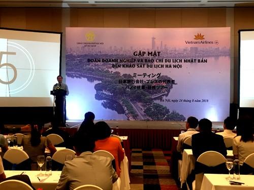 Kota Ha Noi memperluas konektivitas dengan pasar wisatawan Jepang - ảnh 1