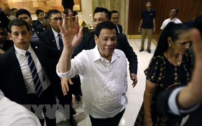 Presiden Filipina memulai perlawatannya di Timur Tengah - ảnh 1