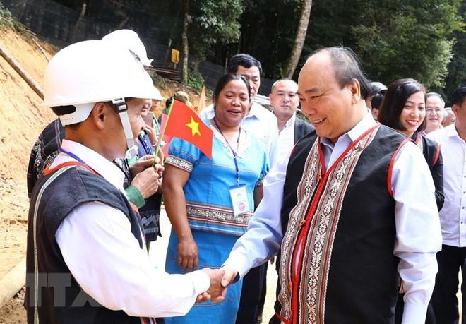 PM Nguyen Xuan Phuc: Ginseng Ngoc Linh merupakan pusaka nasional Viet Nam - ảnh 1