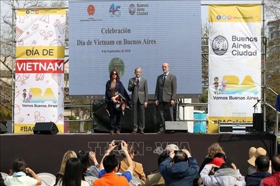 """Kesan tentang """"Hari Viet Nam"""" di Argentina - ảnh 1"""