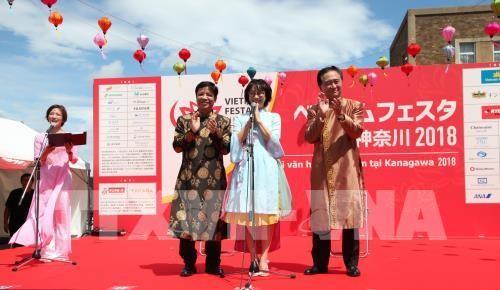 Bergeloranya Festival Viet Nam di Provinsi Kanagawa-Jepang - ảnh 1