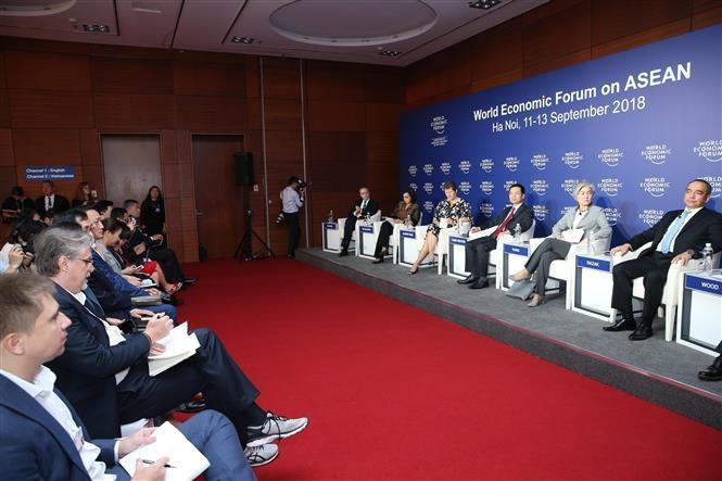 WEF-ASEAN 2018: Berbagi ide dan gagasan untuk turut mendorong perkembangan ASEAN - ảnh 1