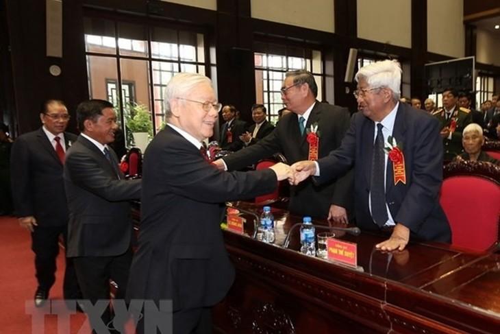 Sekjen Nguyen Phu Trong menghadiri acara peringatan ulang tahun ke-70 hari tradisional cabang Pemeriksaan Partai - ảnh 1