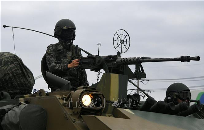 Media RDRK mengutuk Republik Korea dan AS yang melakukan latihan perang gabungan - ảnh 1