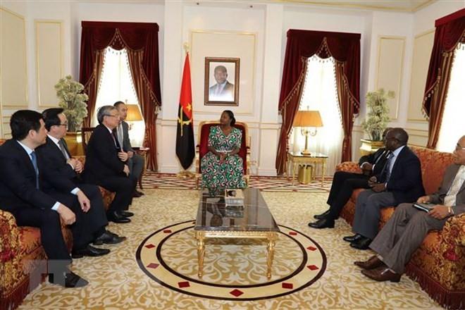 Memperkuat kerjasama antara Viet Nam dan Angola - ảnh 1