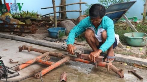 Menemui bapak Ly Quon, miliarder etnis Khmer yang pandai berproduksi - ảnh 1