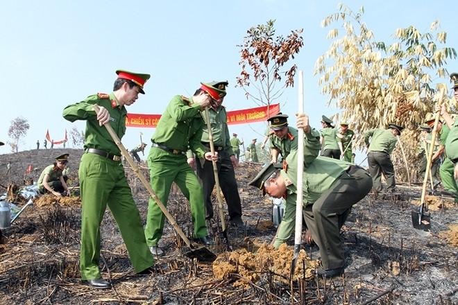 Provinsi Yen Bai menyambut Pesta Penghijauan - ảnh 1