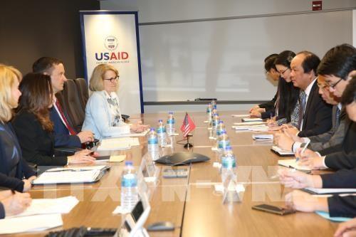 Ketua Dewan Bisnis AS-ASEAN: Kebijakan menyerap investasi yang dilaksanakan Viet Nam sangat efektif - ảnh 1