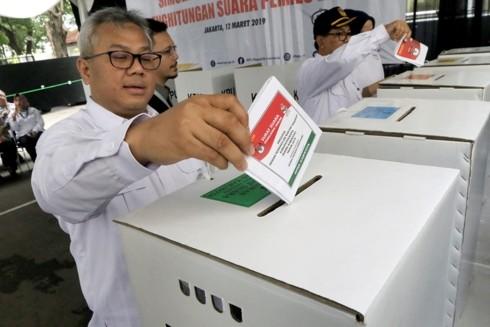 Indonesia siap untuk pemilu yang berskala paling besar selama ini - ảnh 1
