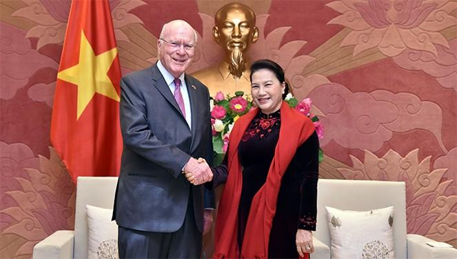 Ketua MN Nguyen Thi Kim Ngan menerima delegasi Senat AS - ảnh 1