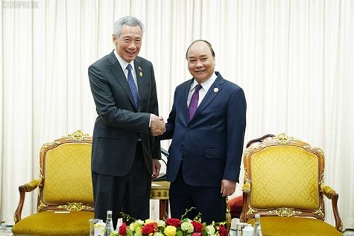 Viet Nam dan Singapura sepakat cepat membangun Zona Industri Viet Nam-Singapura di Provinsi Quang Tri - ảnh 1
