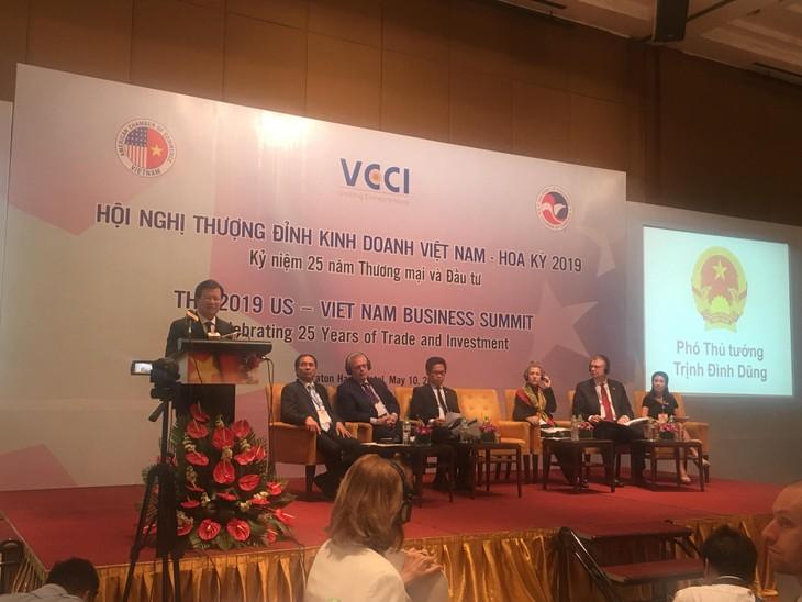 Memperkuat usaha mendorong perdagangan dan investasi Viet Nam-AS - ảnh 1