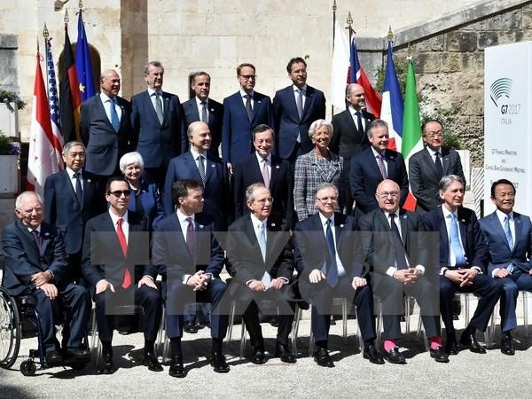 ການນຳການເງິນຂອງກຸ່ມ G7 ອອກຖະແຫຼງການ - ảnh 1