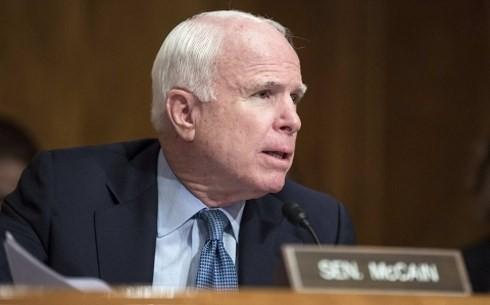 ສະມາຊິກສະພາສູງJohn McCain ແມ່ນສັນຍາລັກແຫ່ງການພົວພັນລະຫວ່າງ ຫວຽດນາມ - ອາເມລິກາ - ảnh 1