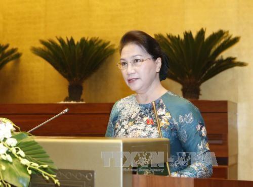 Concluye tercer periodo de sesiones parlamentarias de Vietnam - ảnh 1