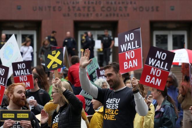 Restauran parcialmente el decreto migratorio de Donald Trump - ảnh 2