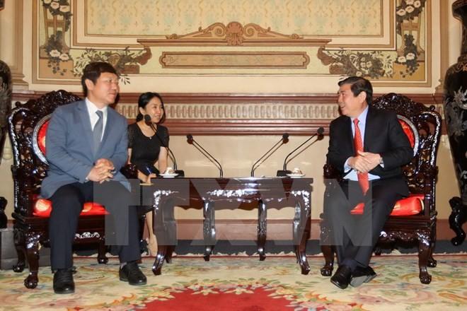 La mayor urbe survietnamita con buena voluntad de colaborar con Corea del Sur - ảnh 1