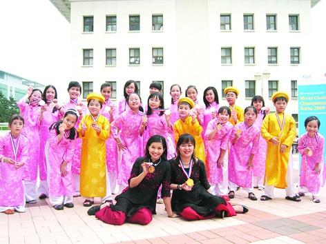 Coro infantil vietnamita avanza en el camino de integración internacional - ảnh 1
